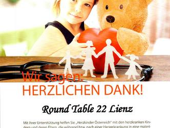 Neunmal regional geholfen! Schön! Herzkinder Österreich