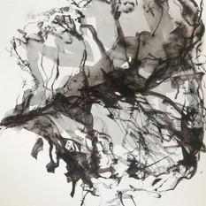 EDITH STEINER, VERWANDLUNG 3, Serie, Grafit-Kreide / Lavur auf Papier, 32 x 24 cm, 2020, 250 Eur