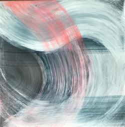DYNAMIK 2020 - 1 | Acryl auf Leinwand, 50 x 50 cm | 2020