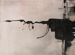 DIREKT | Lack auf Leinwand, 30 x 40 | 2011