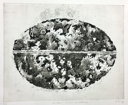 LOST WORLD - MICROWAVE | Ätzradierung / Aquatinta, 40 x 50 cm | 2020