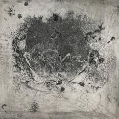 Ulla von Gemmingen, Poetic galaxy 3, Ätzradierung, 40 x 40 cm, 2020, 295 Eur