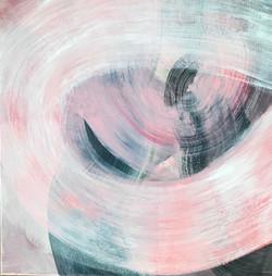 DYNAMIK 2020 - 2 | Acryl auf Leinwand, 50 x 50 cm | 2020