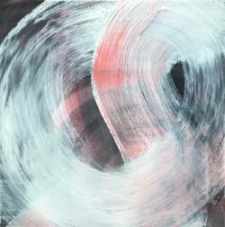 DYNAMIK 2020 - 3 | Acryl auf Leinwand, 50 x 50 cm | 2020