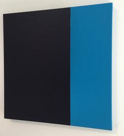 BLUE HARMONY 19 | Öl auf Leinwand, je 60 x 60 cm | 2019