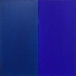 Elke Reis, blue harmony XII, Öl auf Lein