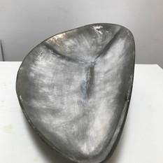 EDITH STEINER, WERDEN, Lindenholz / Pigmente, 33 x 22 x 12 cm, 2020, 1.800 Eur