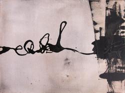 INDIREKT | Lack auf Leinwand, 30 x 40 | 2011