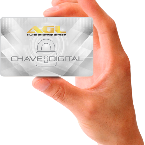 Chave Digital - AGL Card 125Khz