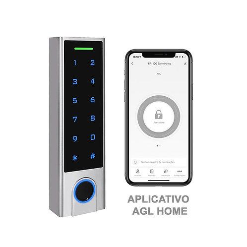 Controle Acesso FP-100 biométrico