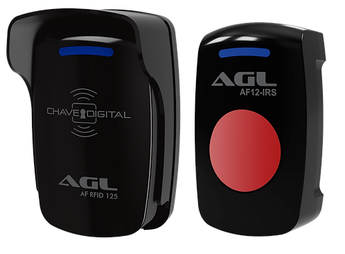 Controle de acesso CA1200 Card Duo