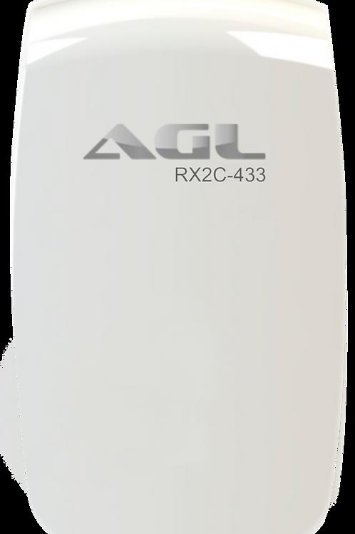 Receptor de 2 canais RX2C-433