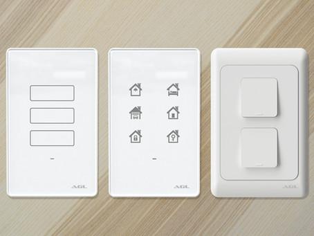 Interruptores AGL: A sofisticação para unir segurança e tecnologia