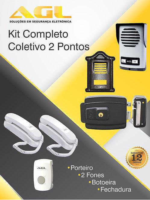 Kit AGL Coletivo 2 pontos