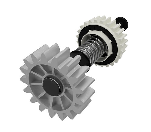 Eixo completo motor deslizante Trino 300-500-light-speed turbo pro