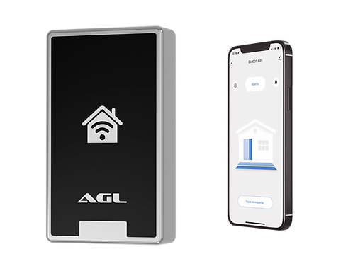 Controle de acesso CA2000 WiFi/RFID
