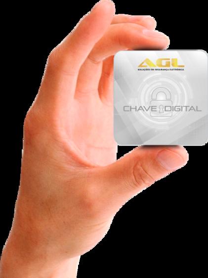 Chave Digital - Mini Card 125Khz