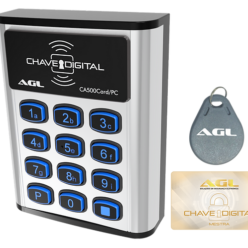 Controle de acesso CA500/CARD