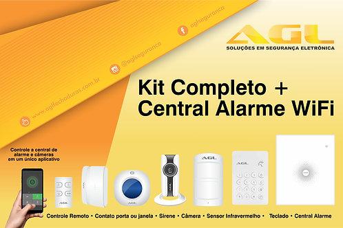 Central Alarme WiFi - Completo +
