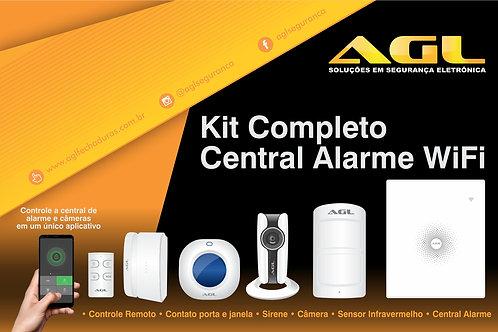 Central Alarme WiFi - Completo