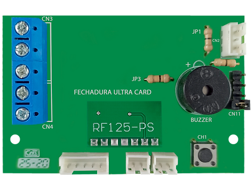 Placa fechadura ultra card