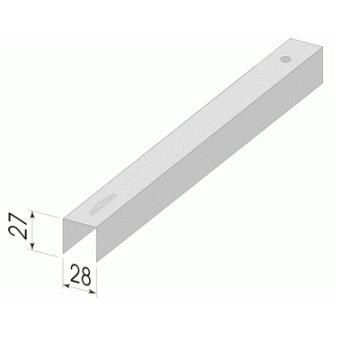 Строительный профиль ПП 28*27-0,45- оцинк МТ 3м