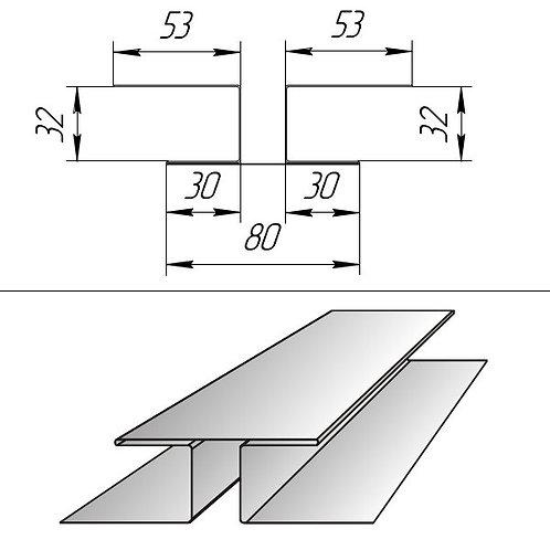 Планка соединительная ПС-БХ-32 окраш PRINTECH