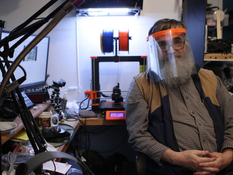 Creston resident uses 3D printing to create face shields and ear savers for community