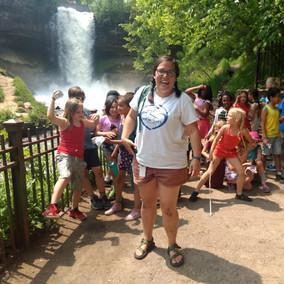 Class trip to Minnehaha Falls