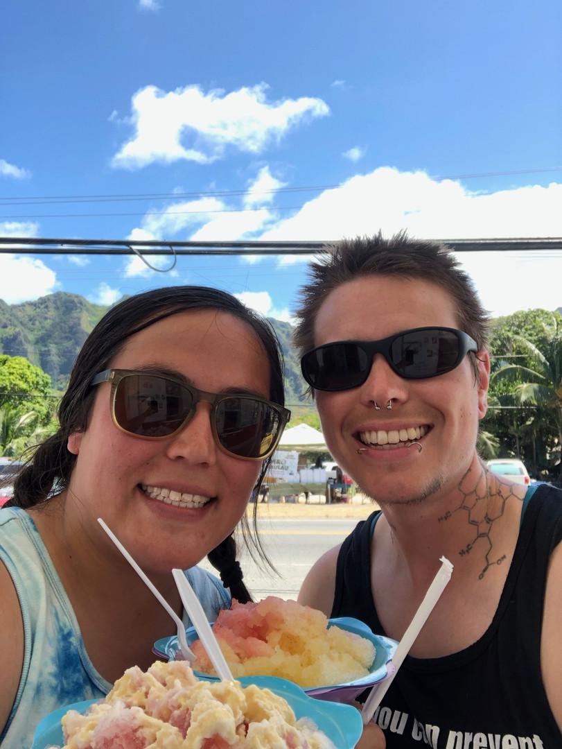 Shave ice: a Hawaiian treat!
