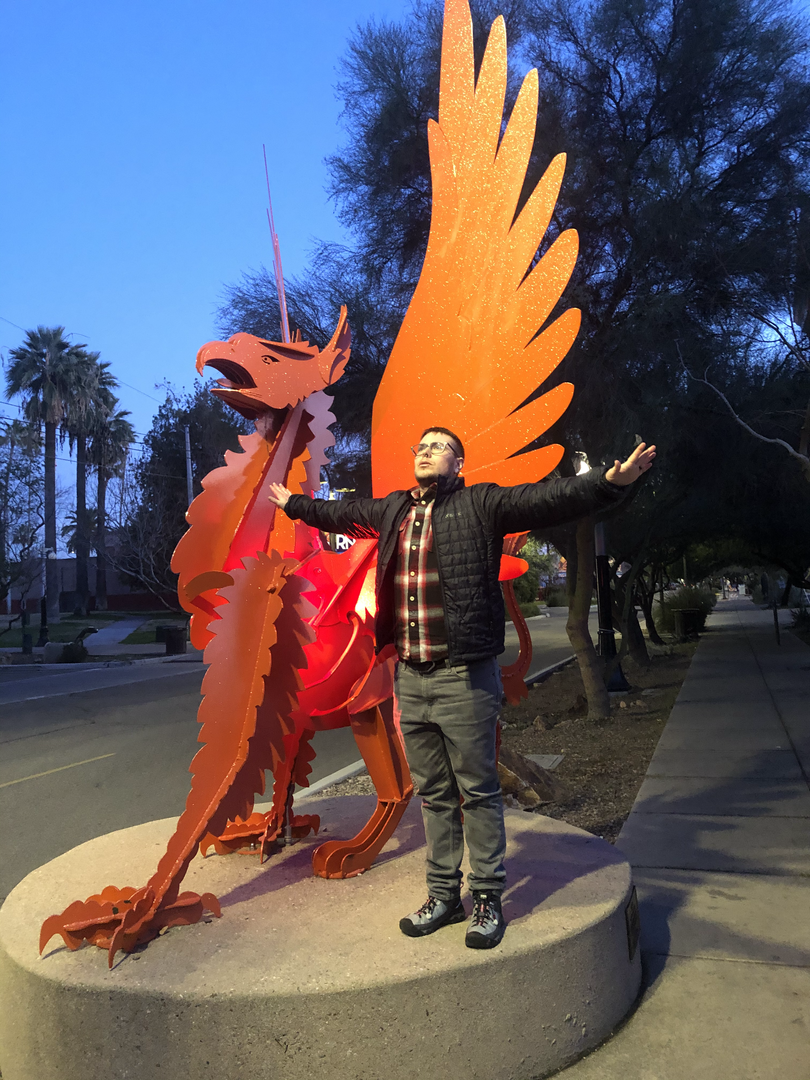 Fawkes in Tucson