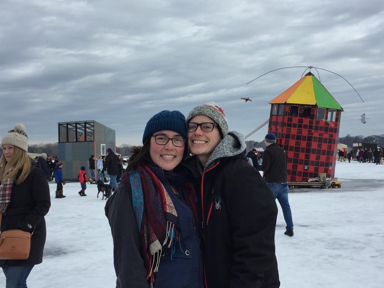 Art Shanties, a local winter festival