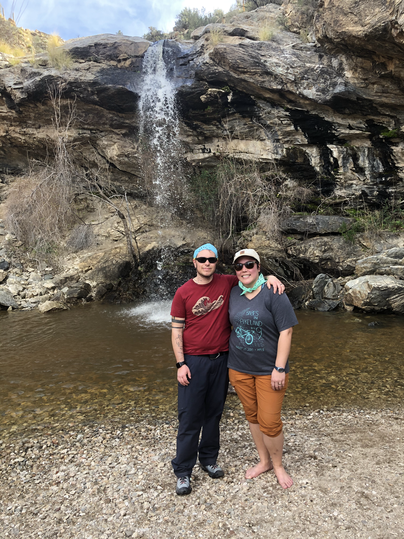Hiking in Tucson
