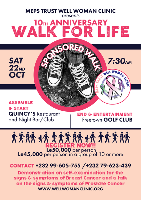 10th Anniversary Sponsored Walk For Life