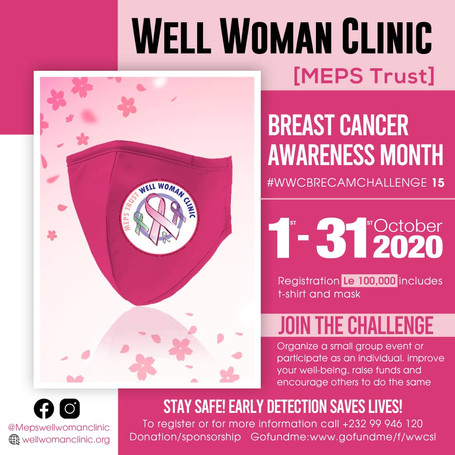 Well Woman Clinic BRECAM2020