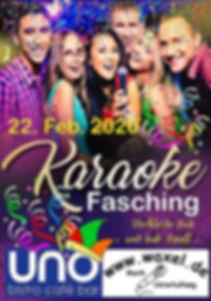 Karaoke-Fasching