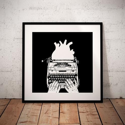 Samuel De Gois - Máquina de escrever