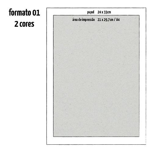 Formato 01 - 02 Cores
