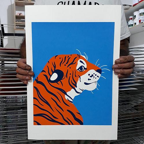 Firulasilustra - Tigre Simpático