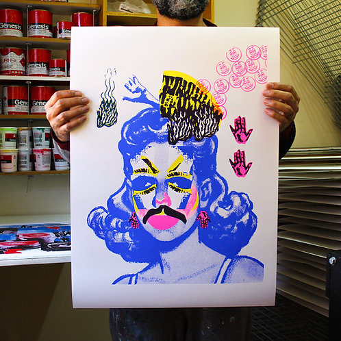Amorim | Mulher mustache II