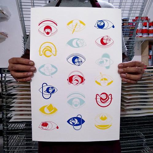 Stucami | Geometric eyes
