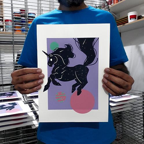 Firulasilustra - Galaxy horse