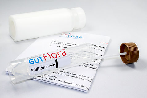 MetaCheck GutFlora Stuhlprobe abnehmen, Darmbakterien