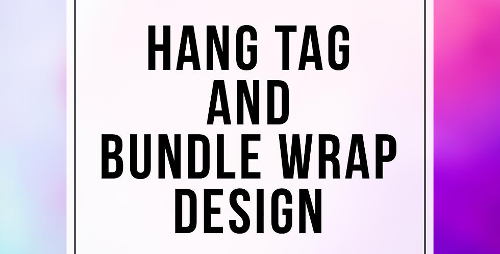 Hang Tag & Bundle Wraps Package