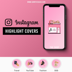 Jasmine Highlight Covers Mockup
