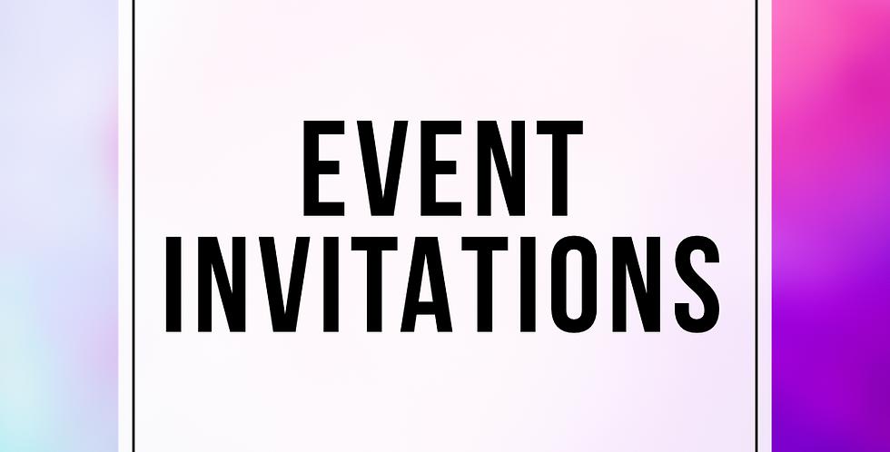 Event Invitation (Digital)