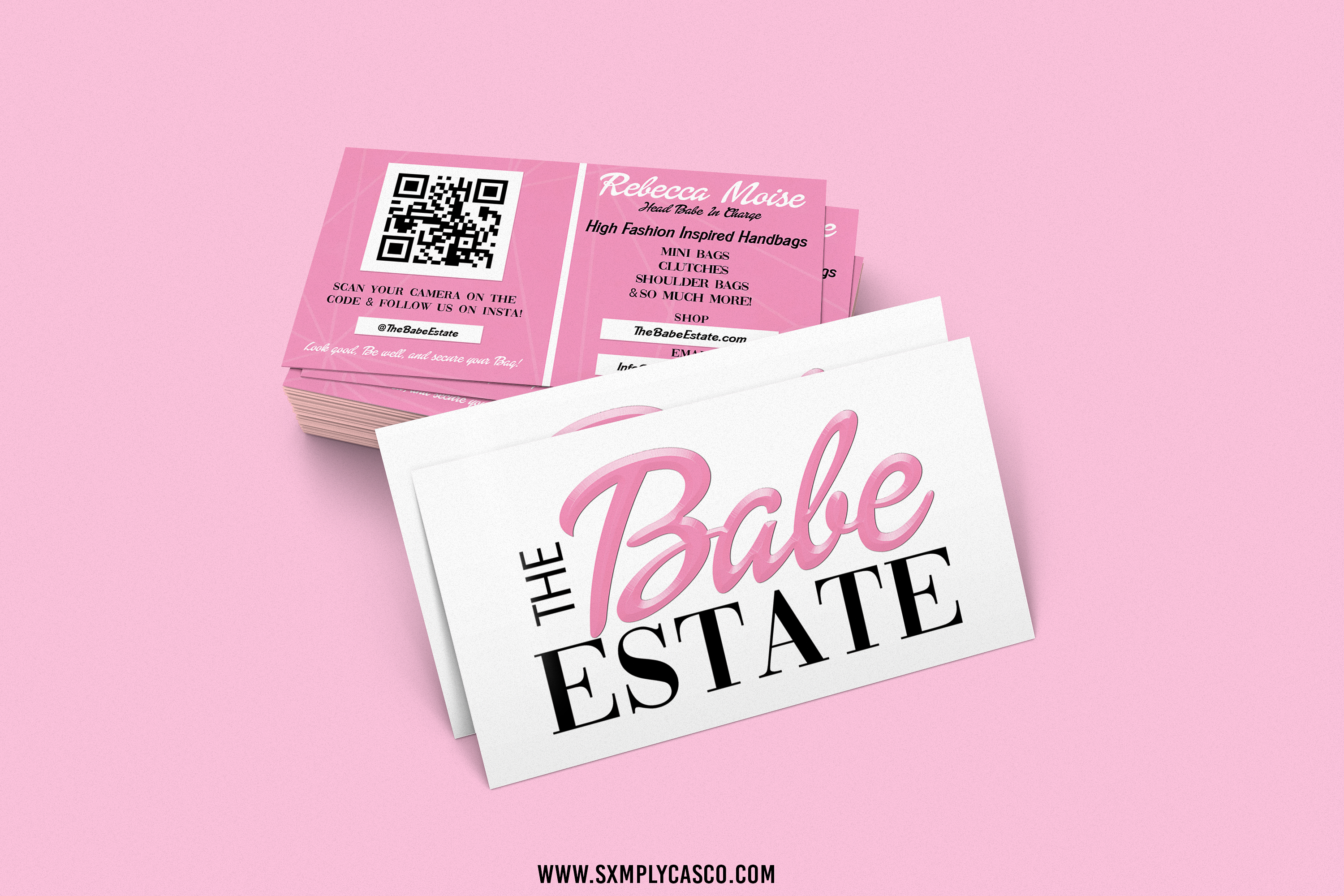 The Babe Estate Business Cards