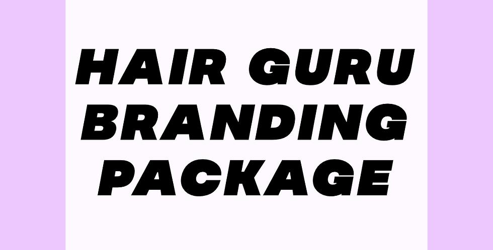 Hair Guru Branding Package