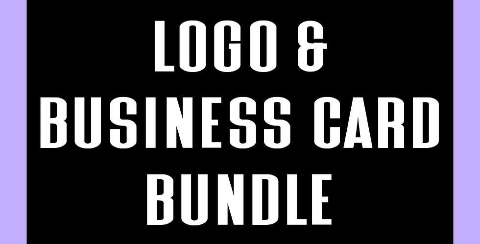 Logo & Business Card Bundle