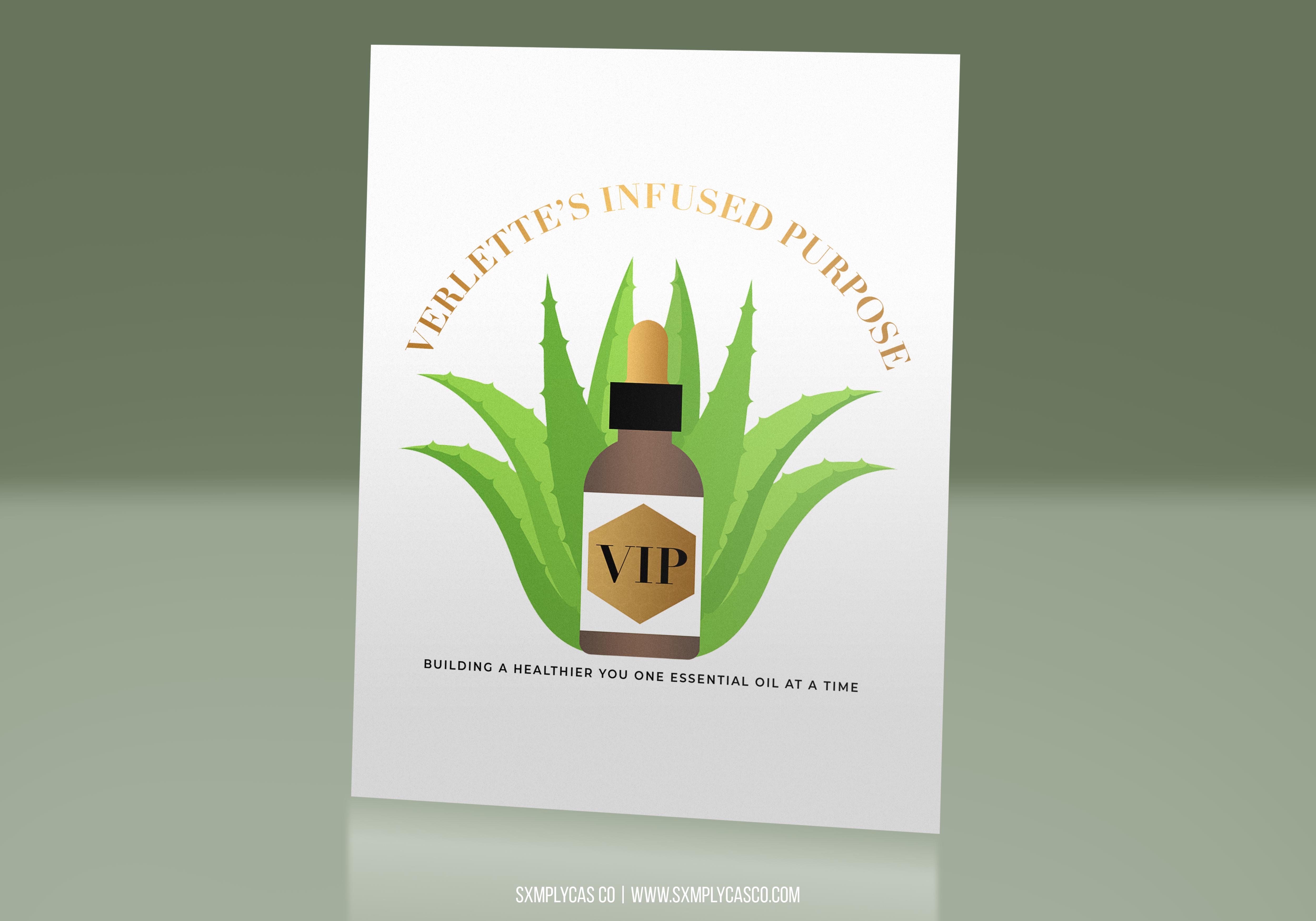 VIP Logo mockup